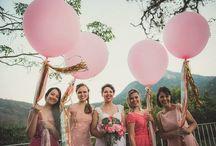 ❤ Bridesmaids - Demoiselles d'honneur / Everything for your lovely bridesmaids and maid of honor • Idées et inspirations pour habiller de pied en cap ses demoiselles d'honneur