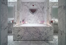 Luxe Bathrooms / #beautifyyourbathroom / by Absolutely Faaabulous