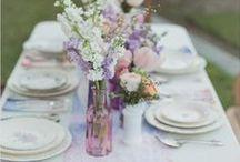 ❤ Jolies tables / Art de la table mariage, jolies tables. Décoration de table originale pour mariage 100% bon goût ;)