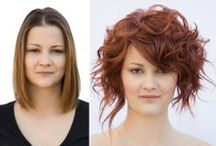 Transformations / Makeovers created by the Aquage team on the road.