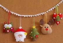 Christmas and New Year Eve / Deco and creative ideas for holidays.