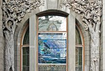 Stained glass / by Livvey Rurup III