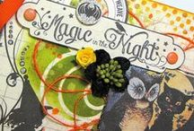 Authentique Paper/Art Anthology/Basically Bare Halloween Project Inspiration / Projects from the Authentique Paper/Art Anthology/Basically Bare Halloween Blog Hop