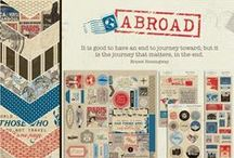 Abroad Collection / by Authentique Paper