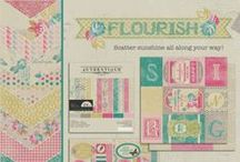 Flourish Collection / by Authentique Paper