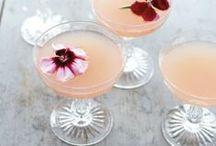 ❤ Cocktail & vin d'honneur / Champagne, cocktails colorés, vins délicieux et autres mets pour ravir vos invités en attendant le dîner