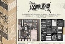 Accomplished Collection / by Authentique Paper