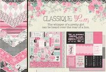Classique: Pretty Collection / by Authentique Paper