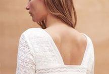 ❤ Robe de mariée courte / Robes de mariée pour la mairie et les cérémonies civiles : florilège des créations courtes des meilleures créatrices françaises et internationales, en demi-mesure et en prêt-à-porter