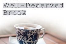 Take a Well-Deserved Break / As a creative entrepreneur, it's easy to stay switched on all the time and forget to take a well-deserved break. However, taking a break will make your journey more enjoyable, and your work more effective. | self-care, taking a break, mindfulness, health, productivity, hiatus