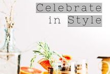 Celebrate in Style / Celebrate it all: successes (big & small), life events, friends, love, memories. Highlight the good, put the bad behind you and get set to tackle any new challenge ahead of yourself! Ceebrating your success is the best way to positively reinforce the value of your hard work. You've worked hard - now PLAY HARD! | work hard play hard, party, celebration, share the love