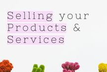 Selling your Products & Services