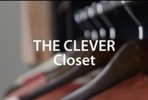The Clever Closet | Organized Living / Closet organization...everything from custom closets to DIY organization ideas - we've got you covered! #organizedliving #homeorganization / by Organized Living