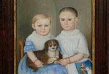 Collection - Primitive Child Portraits