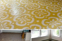 Great floor ideas! / by Heart Art ~ Behold, All Things New