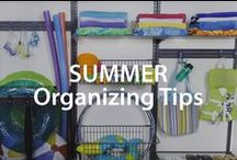 Summer Organizing Tips | Organized Living / Use these hot summer organization tips so you'll have more time for summer fun! #organizedliving #homeorganization / by Organized Living