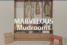 Marvelous Mudrooms | Organized Living / Give messy mudrooms the boot with these simple home organization tips. #organizedliving #homeorganization / by Organized Living