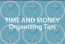 Time & Money Organizational Tips | Organized Living / Organization saves time and money! Declutter your life with these clever tips. #organizedliving  / by Organized Living