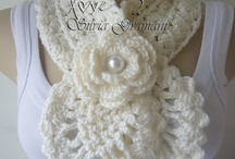 Crochet-Clothes, Scarves & Bags / by Stacy Cashio