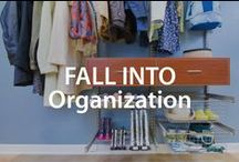 Fall into Organization | Organized Living / Cozy fall tips that will help organize your home! #organizedliving #homeorganization / by Organized Living