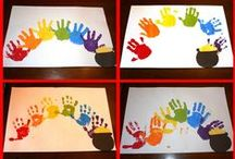 Create!~Finger, Hand, and Foot Print Crafts / the place to find diy inspiration for creating personalized mementos, art, and crafts from prints of fingers, hands, and feet! / by Peggy Jackson
