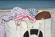 """Towels- Beach Party Beach Towels / This Turkish bath towel is an absolute favorite of everyone! This fabulously airy, thinly striped Turkish-T has become our """"grown-up, take everywhere, securtiy blanket""""! Made of 100% loomed Turkish cotton, you will never want to leave home without yours!"""