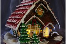 GiNGeRBReaD HouSeS / by Terry Klocek