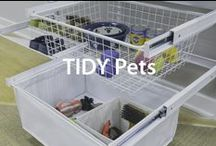 Tidy pets... | Organized Living / The cutest, most organized pets you'll ever find! #organizedliving / by Organized Living
