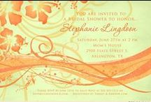 Bright Weddings / cards to match your bright, bold & beautiful wedding color scheme   / by LilDuckDuck