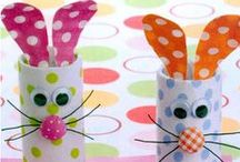Spring Crafts for School / Bucket list of things to try with my kiddos at work.  Covers all spring holidays too. / by Jennifer Armstrong