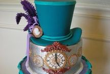DeCoRaTeD CaKeS-STeaMPuNK / by Terry Klocek