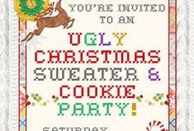 Christmas Parties / Cute and fun ideas for your 2016 Christmas parties!