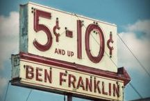 5 and 10 Cents Store / Photos and items from 5 and Dimes, and discount stores of the past / by Elizabeth A. Sicking