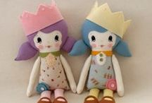 Dolls!~Soft Dolls and Clothes / the place for diy inspiration to create a doll for your loved one, or even for yourself, as well as lots of links to make clothing for them, plus lots of free patterns and ideas! / by Peggy Jackson