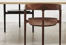 Timber Furniture | DesignByThem / Wooden dining chairs, dining tables, bench seating, stools, bar stools, coffee & side tables.