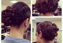 """AbStyles Hair Creations """"Hair: As You Like It!"""" / AbStyles Hair Creations by Abigail: updo hair stylist for weddings, prom, or other special occasions. Located in High Point, NC -- I come to you!"""