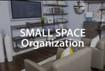 Small Space Organization | Organized Living / by Organized Living