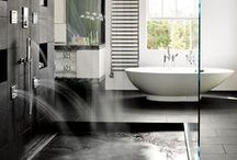 Clean / Cleanliness is next to godliness, after all. Modern yet character filled bathrooms is what this is all about.