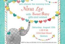 Cute Baby Shower Ideas / Cute baby shower ideas for your coming little baby boy or girl! Adorable baby shower invitations, party ideas, favors, food suggestions and more...
