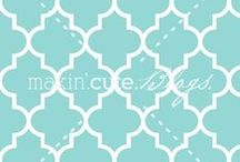 Quatrefoil / My Lucky Love in 4...Quatrefoil Pattern / by Amy Rue