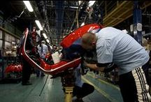 Vespa factory in Pontedera / Vespa: over 17 million units produced
