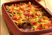 Casseroles & Bakes / Tasty casseroles with a Mexican twist.  / by Old El Paso