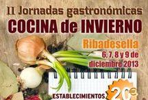 II Jornadas Gastronómicas Cocina de Invierno / Del 6 al 9 de Diciembre. El precio de los menús es de 20€ (bebida incluida). Reserva ya tu mesa y aprovéchate del descuento que ofrecen los alojamientos colaboradores.