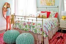 Home~GIRL~Bedroom / Pretty bedroom ideas for all ages of girls. / by Amy Rue