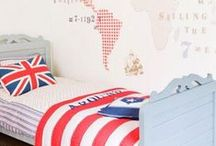 Home~BOY~Bedroom / Bedroom ideas for all ages of boys / by Amy Rue