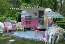 ♥ Campers / The best, shabbiest, prettiest, and kitschy campers ever / by Rebecca Jayne