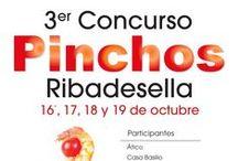 III Concurso de Pinchos de Ribadesella / El III Concurso de Pinchos de Ribadesella se celebrará del 16 al 19 de octubre de 2014 con la participación de 11 establecimientos riosellanos que ofertarán propuestas muy originales, de creación propia, por un precio de 2 euros