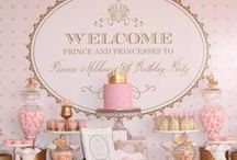 ♥ Princess Party / Cute birthday party ideas for girls. / by Rebecca Jayne