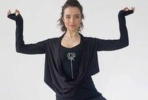 Bolero shrugs and Infinity Boleros for yoga, dance and travel / Bolero Shrugs and Infinity shrugs designed for yogawear, dancewear, and travel wear.