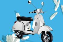 Your Vespa, your life / Color your life with Vespa!
